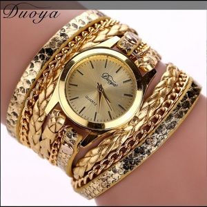 Multiple Wrap Around Wrist Watches
